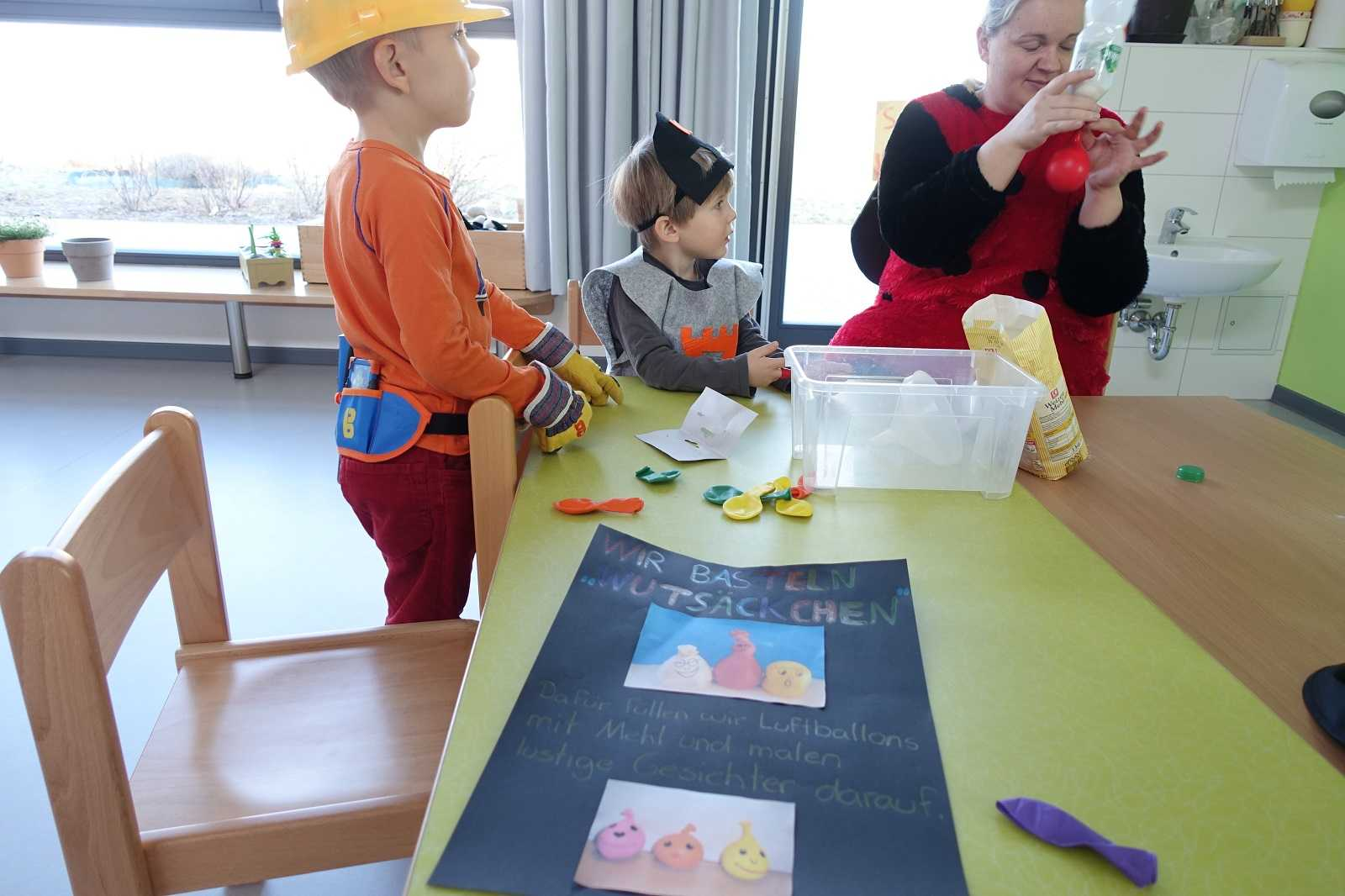 Fasching In Der Kindergartnerei